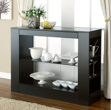 Picture of Glass Shelf Buffet