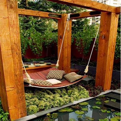 Picture of Hanging Tree Bed