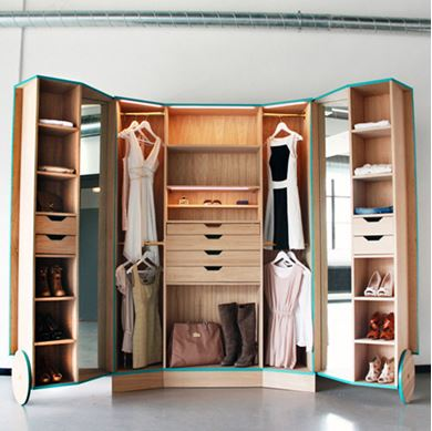 Picture of Simple Bedroom Closet
